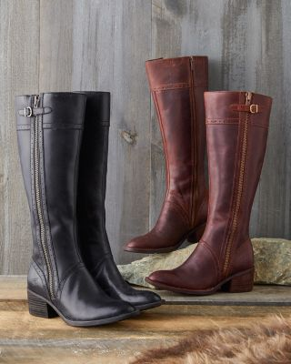 Born Poly Tall Zip Boots