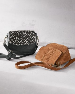 Stella Cross-Body Saddle Bag
