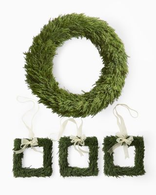 Preserved Cypress Wreaths