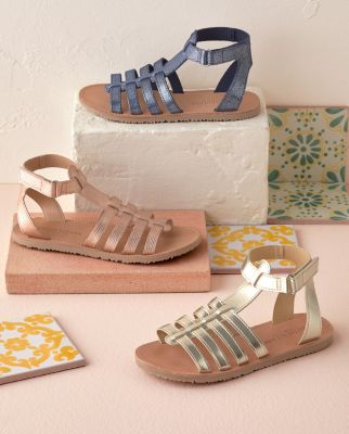 Girls' Italian Gladiator Sandals