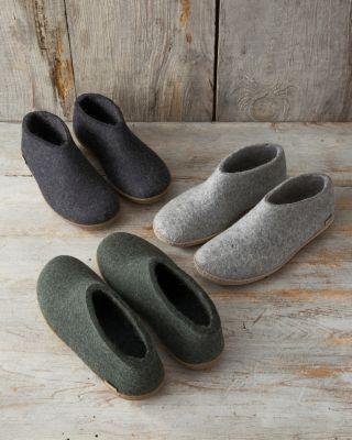 Glerups Men's Wool Slippers