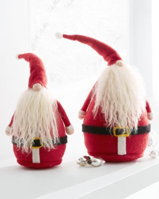 Chubby Holiday Santas