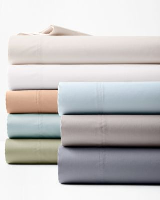 Wrinkle-Resistant Pima Cotton Sateen Sheets