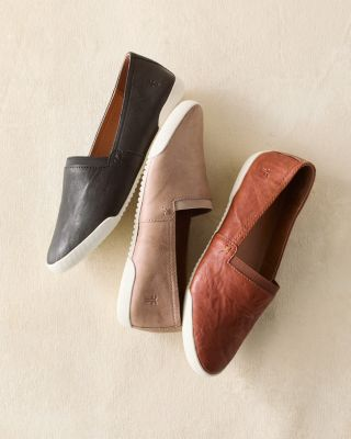 Frye Melanie Italian Leather Slip-On Shoes