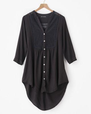 ViX Boyfriend Shirt Cover-Up