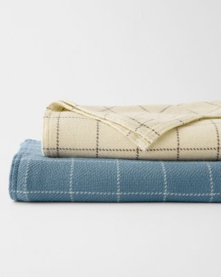 EILEEN FISHER Washable Merino Wool Blanket and Throw
