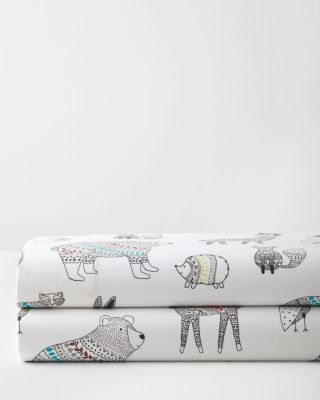 Fair Isle Friends Flannel Sheet Sets