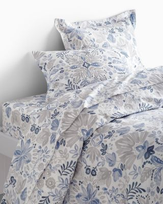 Folk Floral Signature Flannel Duvet Cover