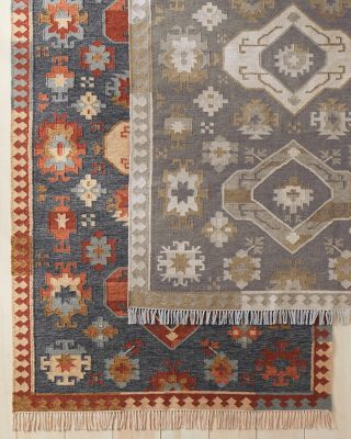 Kilim Indoor-Outdoor Recycled Rug by Garnet Hill