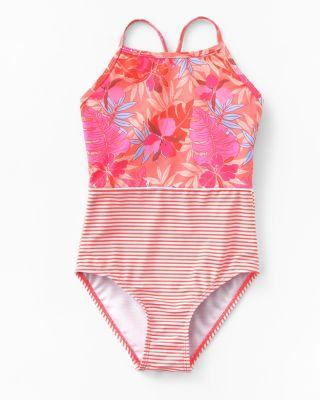 Snapper Rock Girls' One-Piece Swimsuit