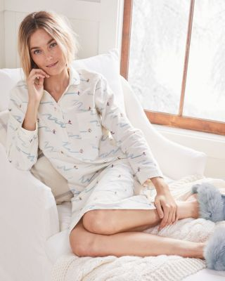 Organic-Cotton Classic Flannel Gown