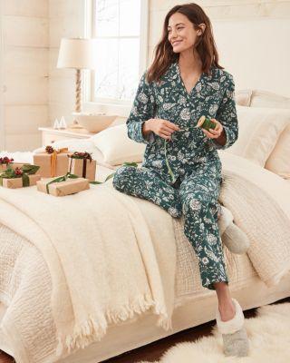 Organic-Cotton Classic Flannel Pajamas