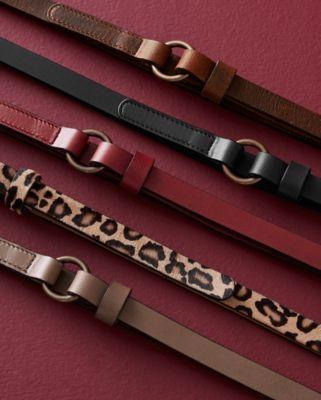 Jaden Italian Minimal Skinny Belt