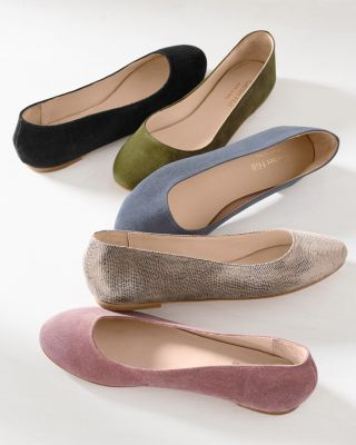 Pippa Modern Italian Ballet Flats