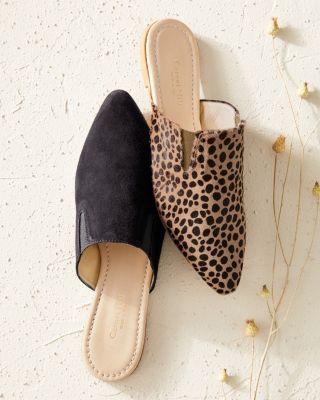 Renata Gusset Italian Mule Sandals