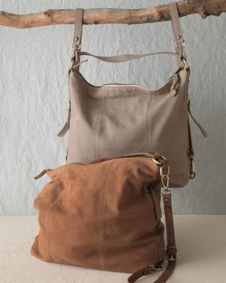Italian Leather Lea 3-in-1 Convertible Bag