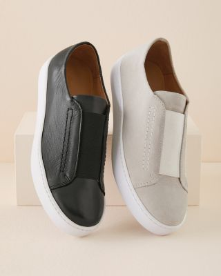 Zora Slip-On Suede Sneakers For Women