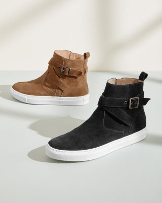 Enna Buckle Sneakers