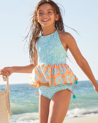 Cabana Life Girls' Tankini Set