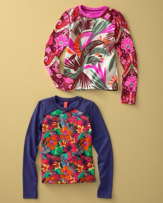 Maaji Long-Sleeve Rashguard - Girls