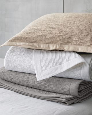 EILEEN FISHER Organic Cotton and Linen Haven Quilt