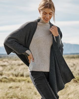 Washable Cashmere Ruana Wrap
