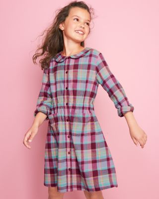 Girls' Camilla Classic Cotton Shirtdress