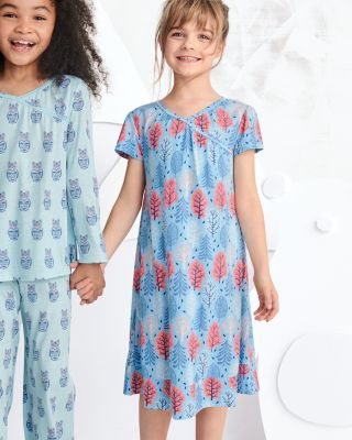 a36e23ced3 Girls  Dreamland Short-Sleeve Nightgown