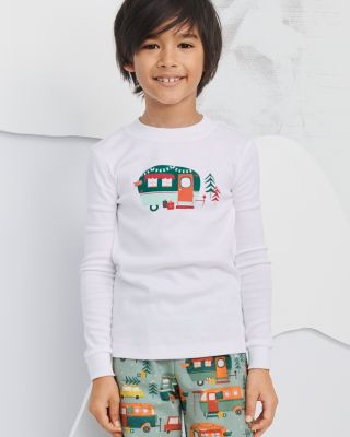 Kids' Organic-Cotton Graphic Pajama Top