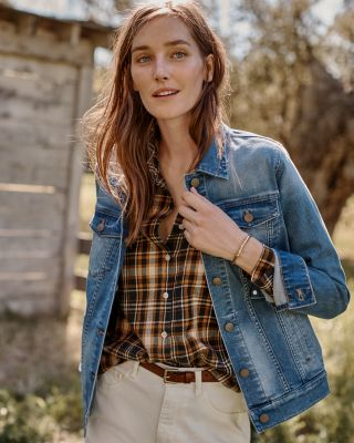 Organic Cotton Relaxed Jean Jacket