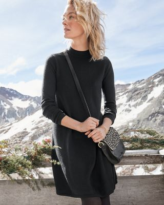 Eco Merino Trapeze Sweater Dress