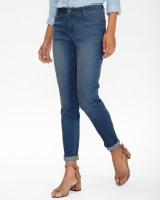 Essential Organic Cotton Girlfriend Jeans By Garnet Hill