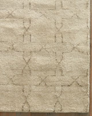 Kasbah Star Hand-Knotted Wool Rug