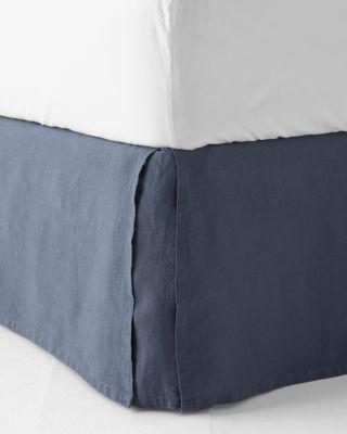 Relaxed Linen Bedskirt