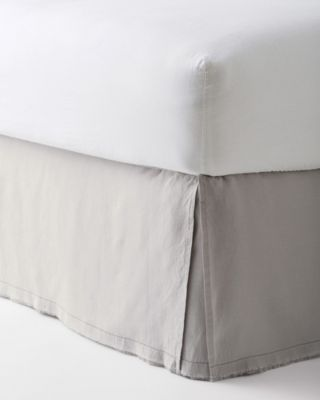 Washed-Linen Bedskirt by EILEEN FISHER