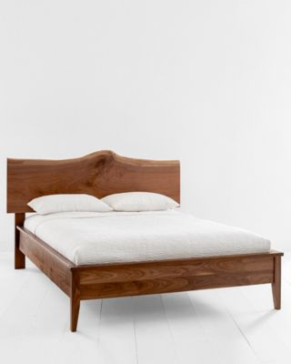 Rustic Platform Bed By Garnet Hill