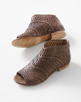 Cordani Open-Toe Shooties