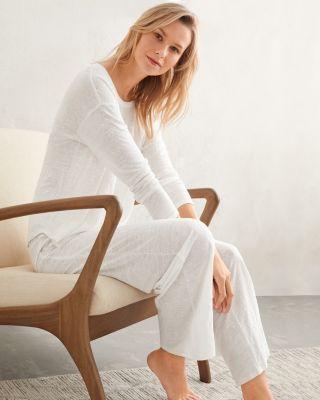 EILEEN FISHER Organic-Linen Knit Pajamas