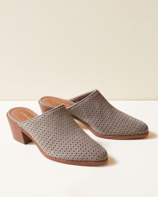 Trask Teresa Perforated Mules