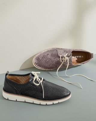 Trask Lena Perforated Oxford Shoes