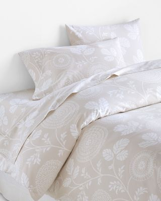 Mila Floral Luxe Sateen Duvet Cover