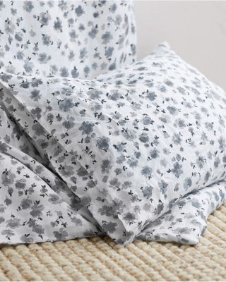 Flora Linen Bedding and Pillow Cover