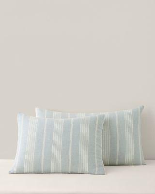 Linen Stripe Sham