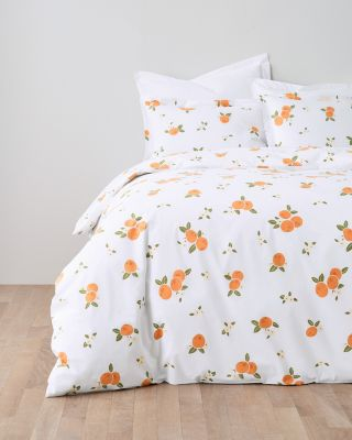 Clementine Organic-Cotton Percale Sham
