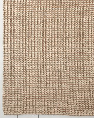 Jute & Pebbled-Wool Rug