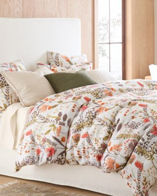 Wildflower Linen Duvet Cover and Sham