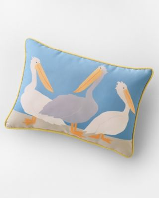 Hable Indoor-Outdoor Pelicans Pillow