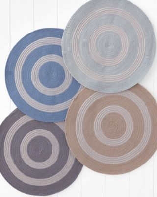 Sunbrella Indoor-Outdoor Braided Round Rug