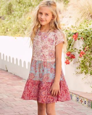 Girls' Cotton Sparkle Sundress