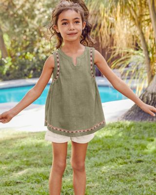 Girls' Waverly Sleeveless Blouse